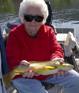 White River Trout Diva Extraordinaire, Diva Frances