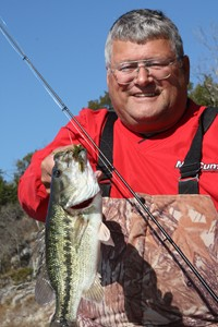 Bass on Lake Norfork