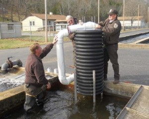 Norfork National Fish Hatchery Diffuser Unit